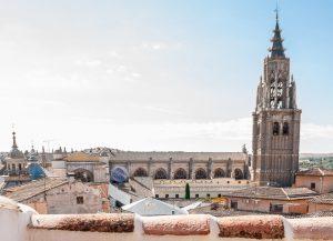 vistas 300x217 - Dúplex Abuardillado junto a la catedral- 4pax - Toledo Ap Alojamientos turísticos