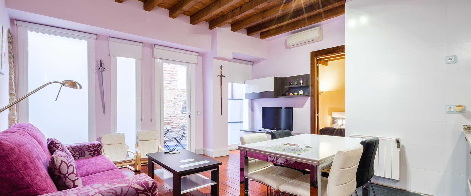 apartamentoconpatio 2 - Alojamiento para empresas en Toledo - Toledo Ap Alojamientos turísticos