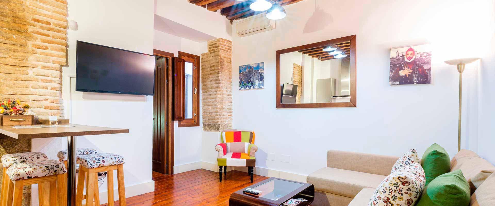 apartamentoconpatio 1 - Alojamiento para empresas en Toledo - Toledo Ap Alojamientos turísticos