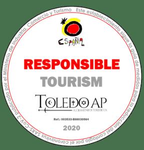 turismo responsable 2 288x300 - Protocolos de limpieza Covid19 - Toledo Ap Alojamientos turísticos