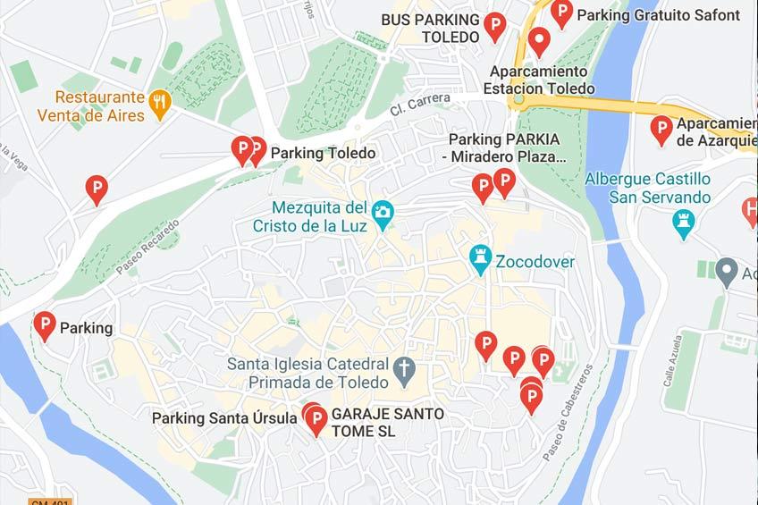 parking toledo - Aparcar en Toledo - Toledo Ap Alojamientos turísticos